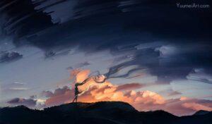 Fade Away by Artist Yuumei, aka Wenqing Yan
