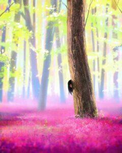 Hayashi by Inspirational artist Ilya Kuvshinov