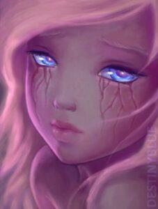 If Tears Left Scars by Artist DestinyBlue