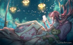 In My Loneliness by Artist Yuumei, aka Wenqing Yan