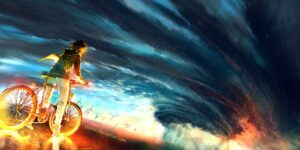 Into The Storm by Artist Yuumei, aka Wenqing Yan