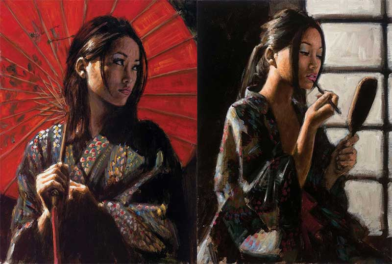 My Favourite Inspirational Artwork by Artist Fabian Perez