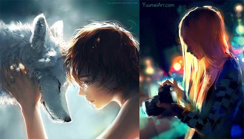 Me Favourite Inspirational Art by Artist Yuumei, aka Wenqing Yan