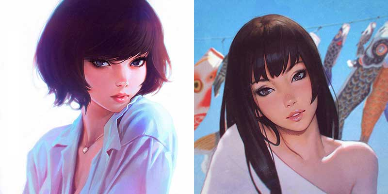 Me Favourite Inspirational Art By Artist Ilya Kuvshinov