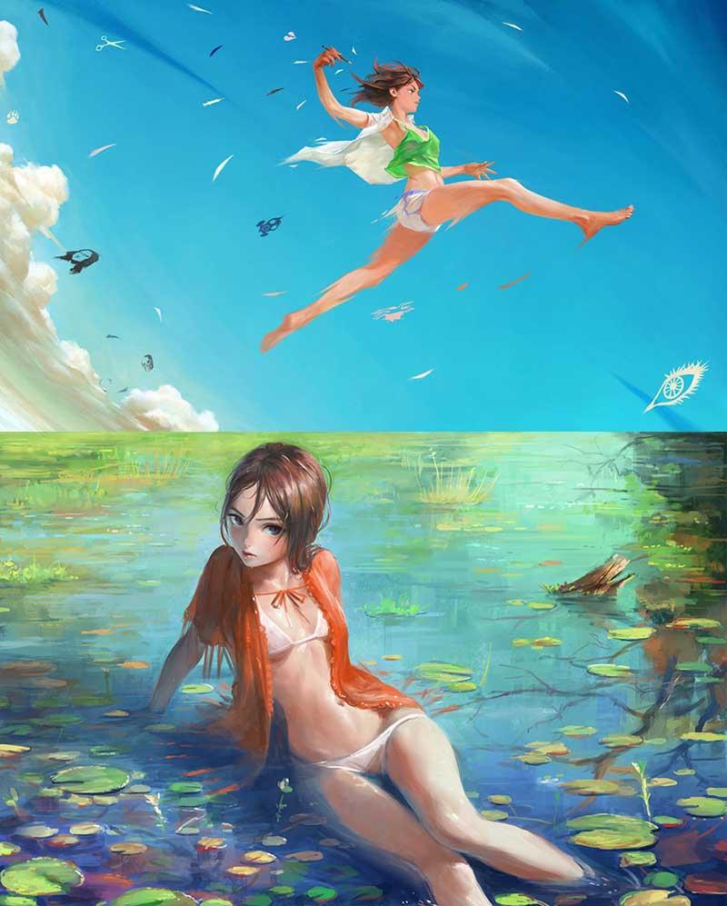 My Favourite Inspirational Artwork by Artist Arata Yokoyama