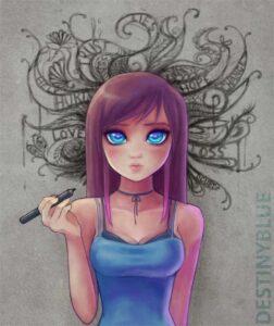 Overthinking by Artist DestinyBlue