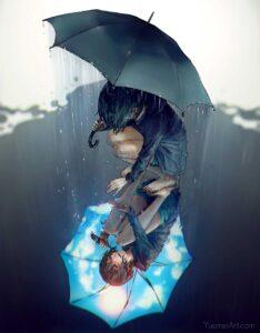 Rain On My Sunshine by Artist Yuumei, aka Wenqing Yan
