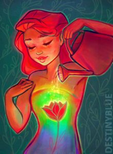 Self Care by Artist DestinyBlue