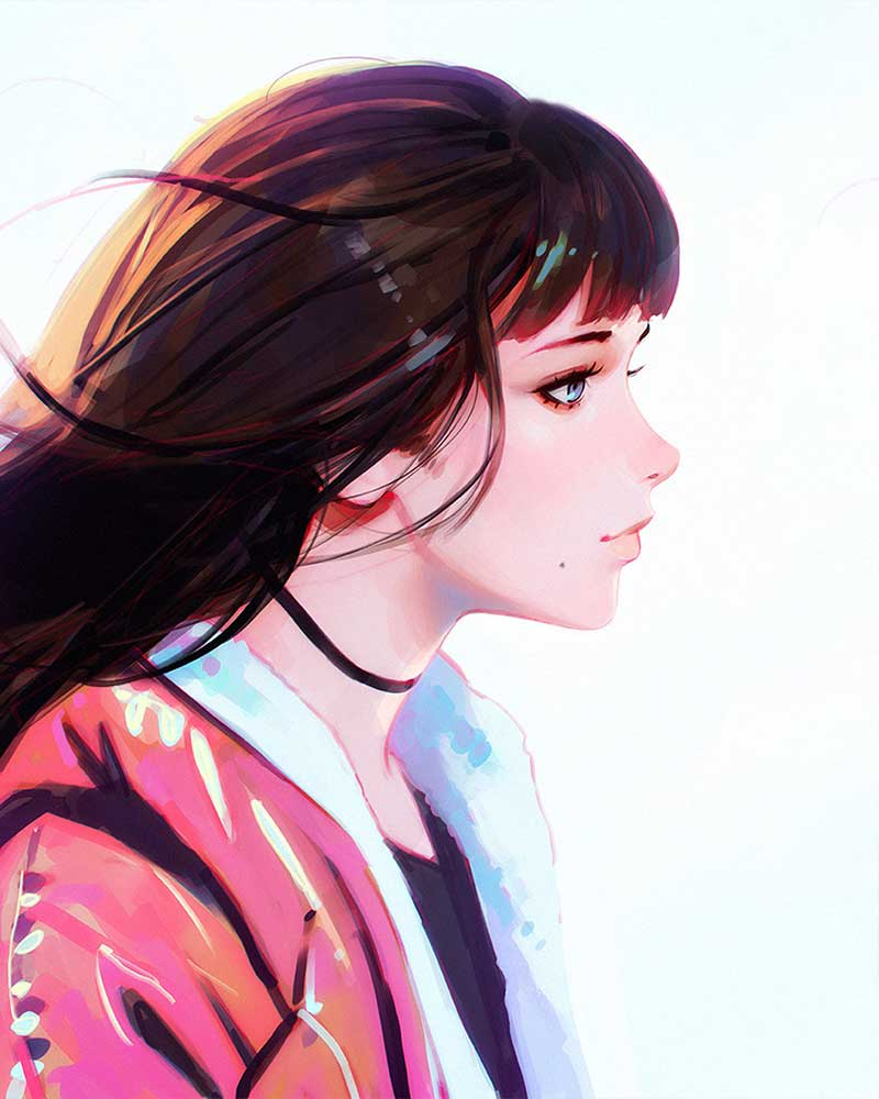 Inspirational Art By Artist Ilya Kuvshinov