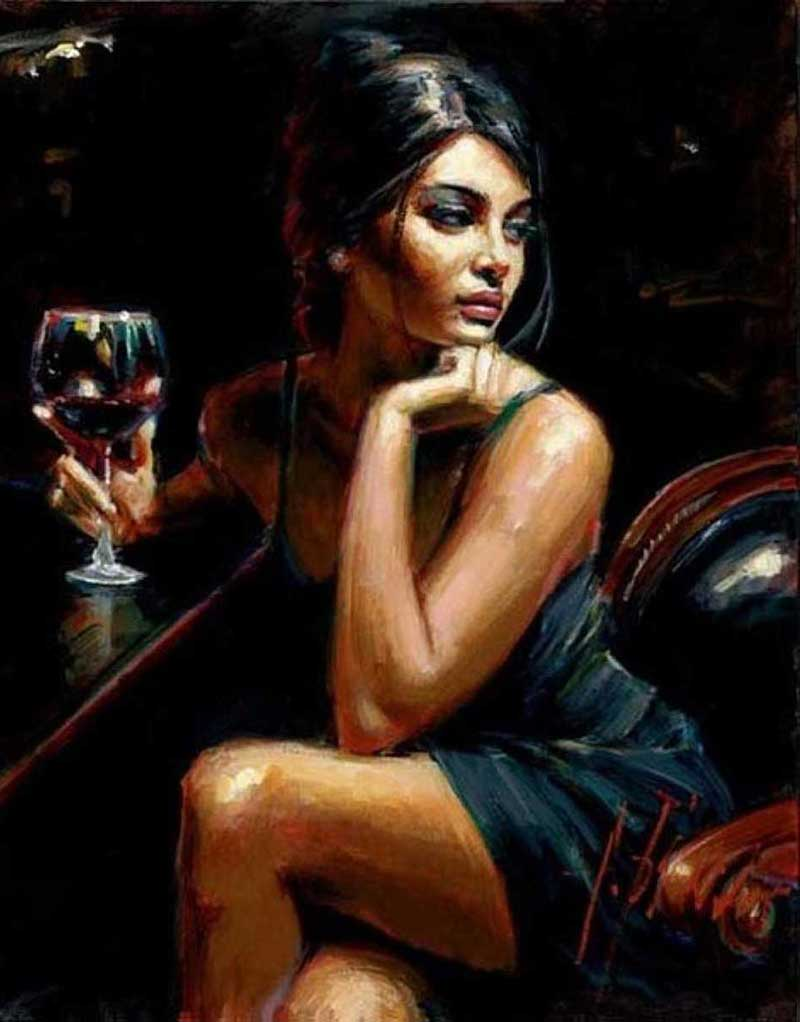 Inspirational Art By Artist Fabian Perez