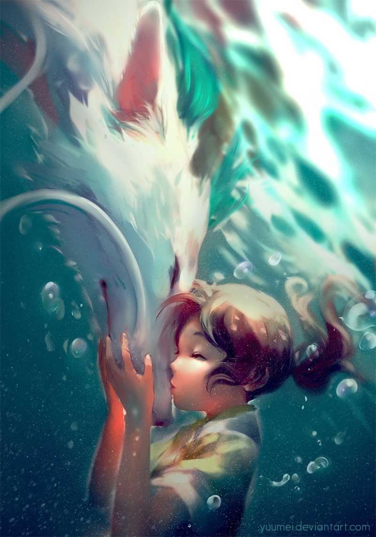 Inspirational Art by Artist Yuumei, aka Wenqing Yan