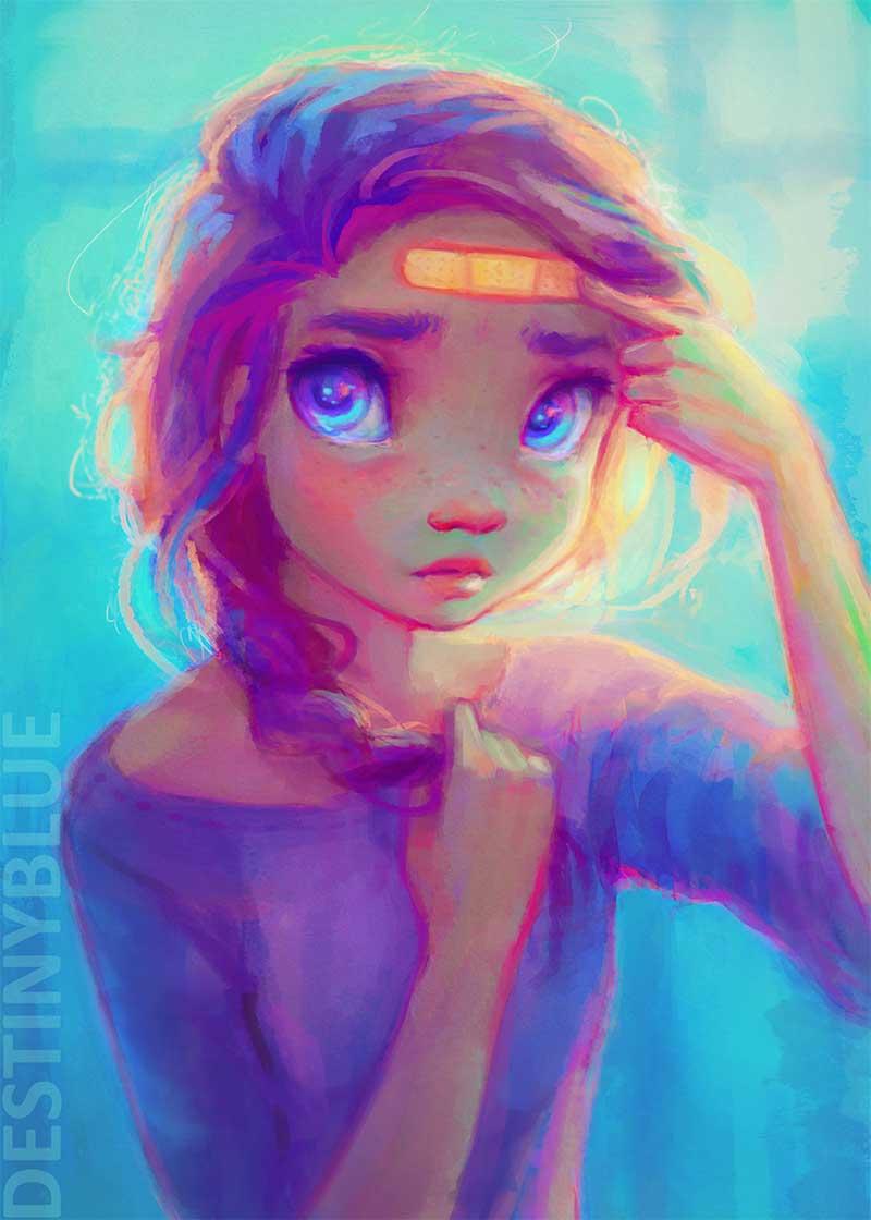Inspirational Art by Artist DestinyBlue