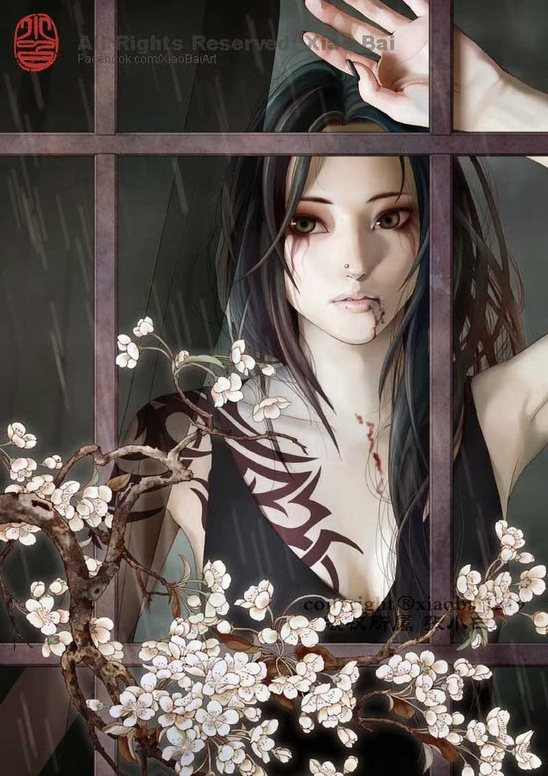 Inspirational Art by Artist Zhang XiaoBai