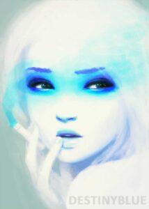 Smokey Eyes by Artist DestinyBlue