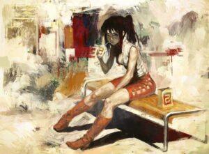 Summer by Inspirational Artist Arata Yokoyama