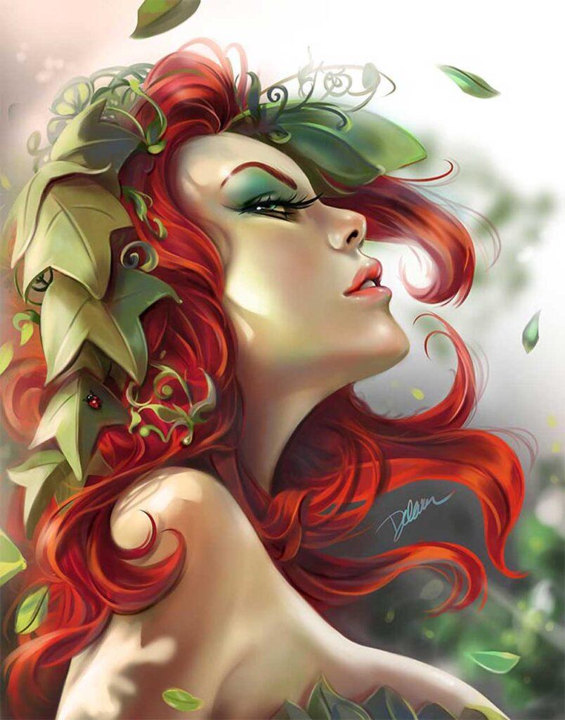 Inspirational Art : Pinup Poison by Cris Delara