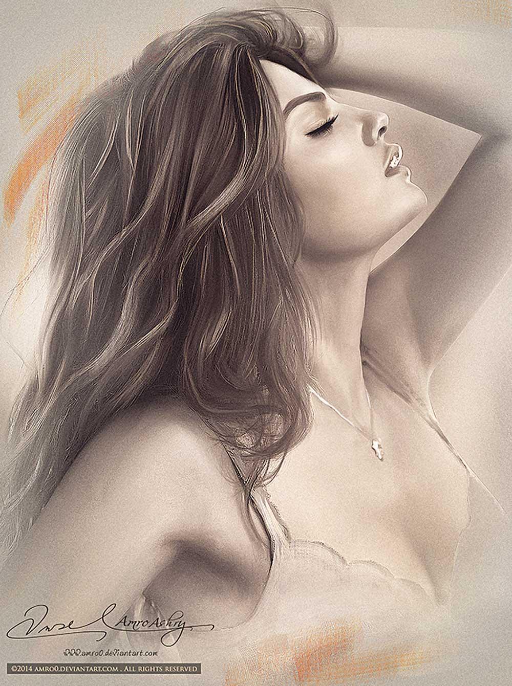 Inspirational Art : The Beauty of a Woman 4 by Amro Ashry [Amro0]