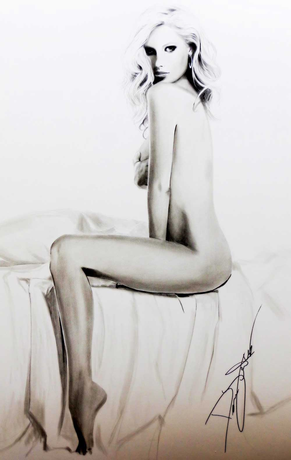 Inspirational Art : Jenn by Dave Lukas