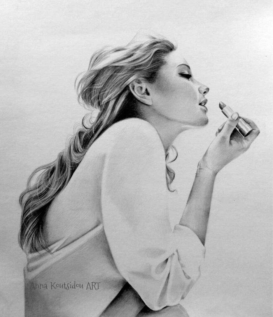 Inspirational Art : He Loves Watching Me by Anna Koutsidou