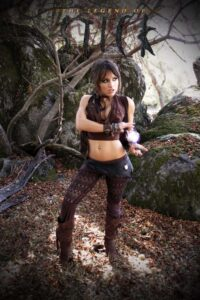 Inspirational Model Liz Katz Zev The Legend of Stick Cosplay