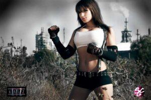 Inspirational Model Liz Katz Tifa Lockhart Final Fantasy Cosplay