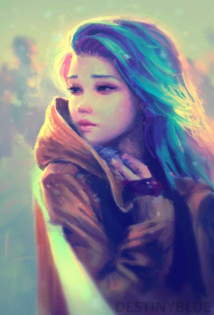 Inspirational Art : Waiting For You by Alice de Ste Croix [DestinyBlue]