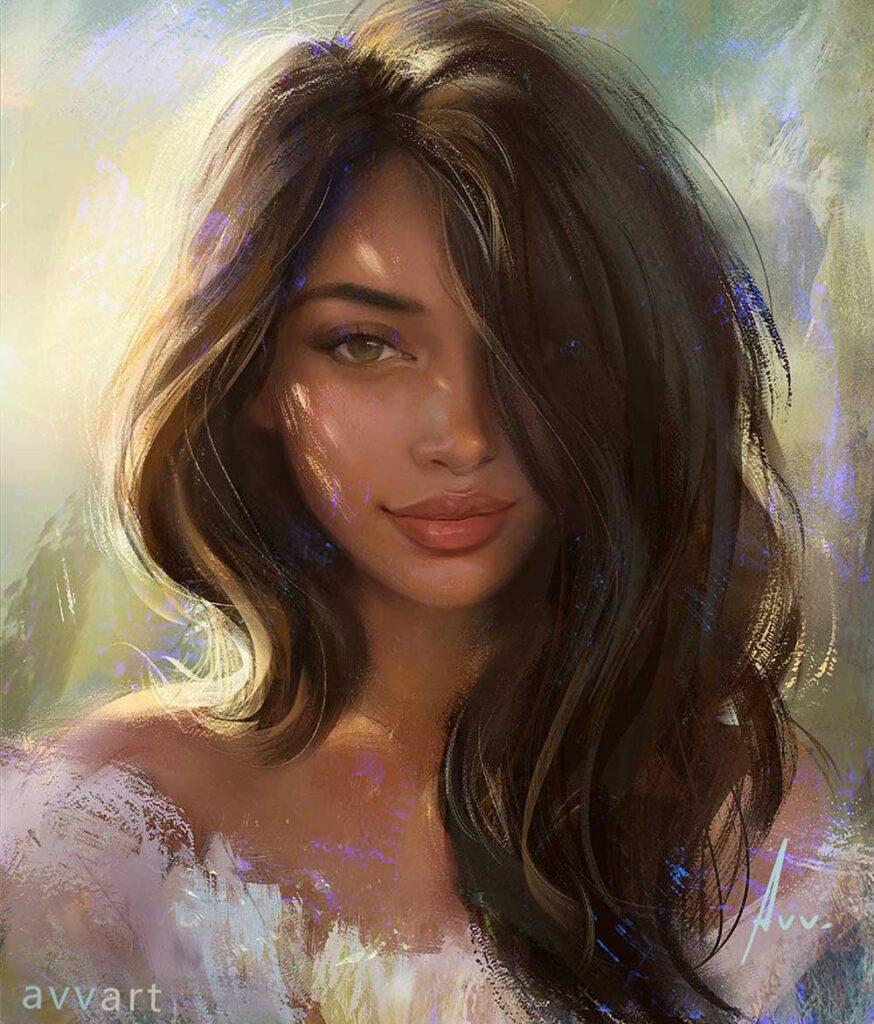 Inspirational Art : Cindy by Aleksei Vinogradov