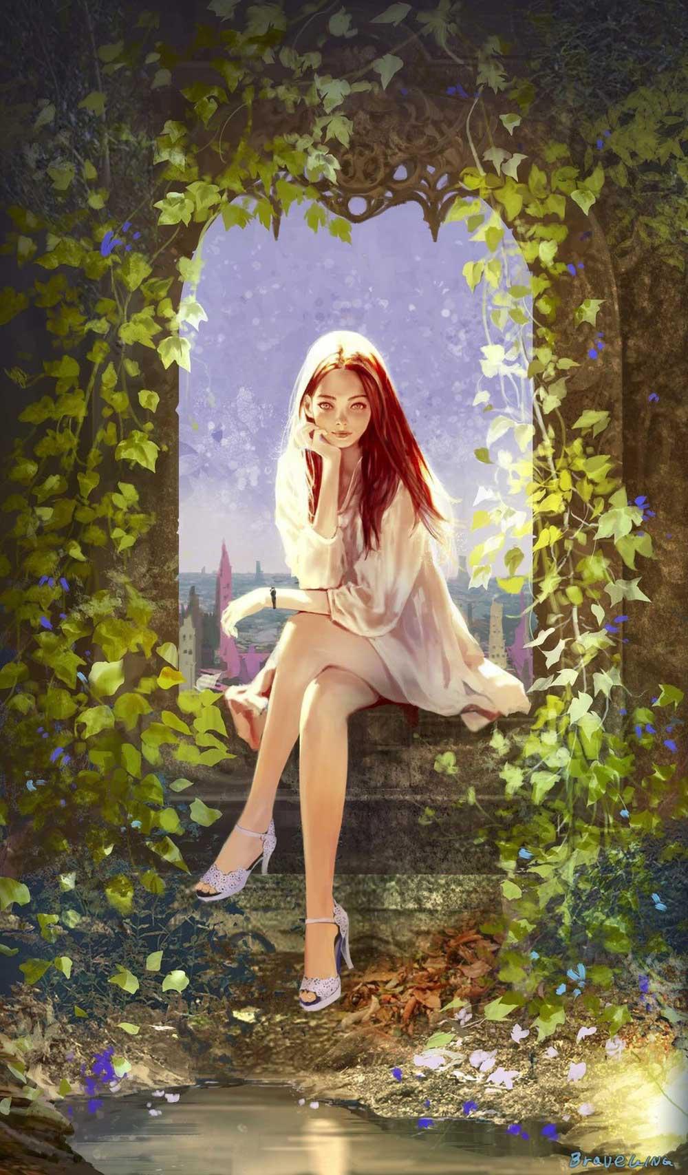 Inspirational Art : U by Sung Choul Ham