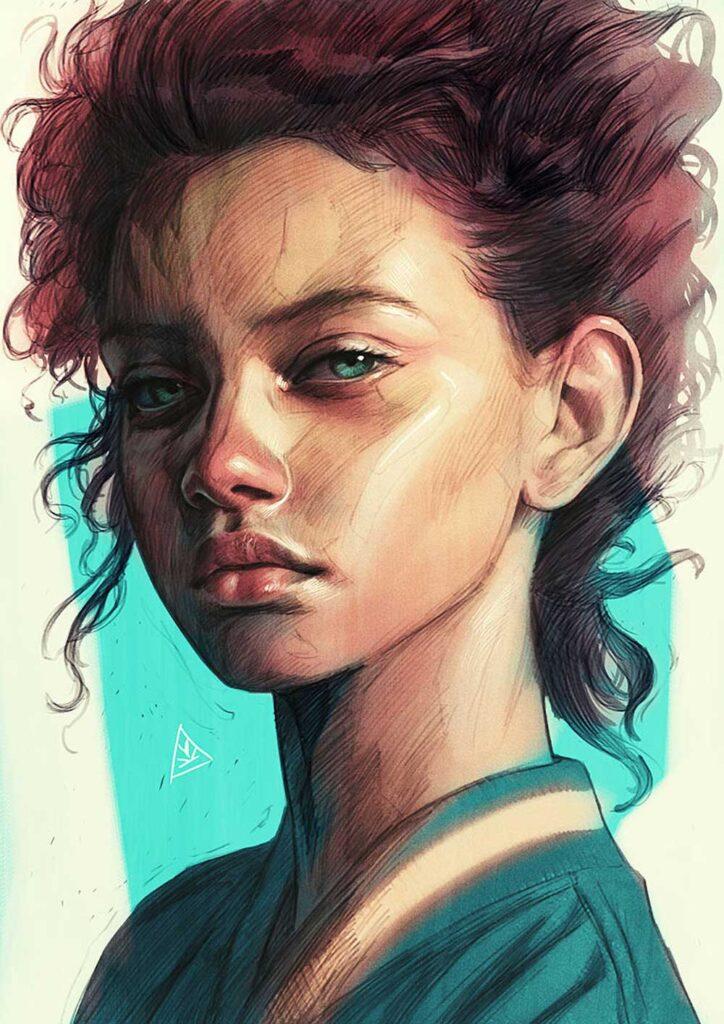 Inspirational Art : Child by Aykut Aydogdu