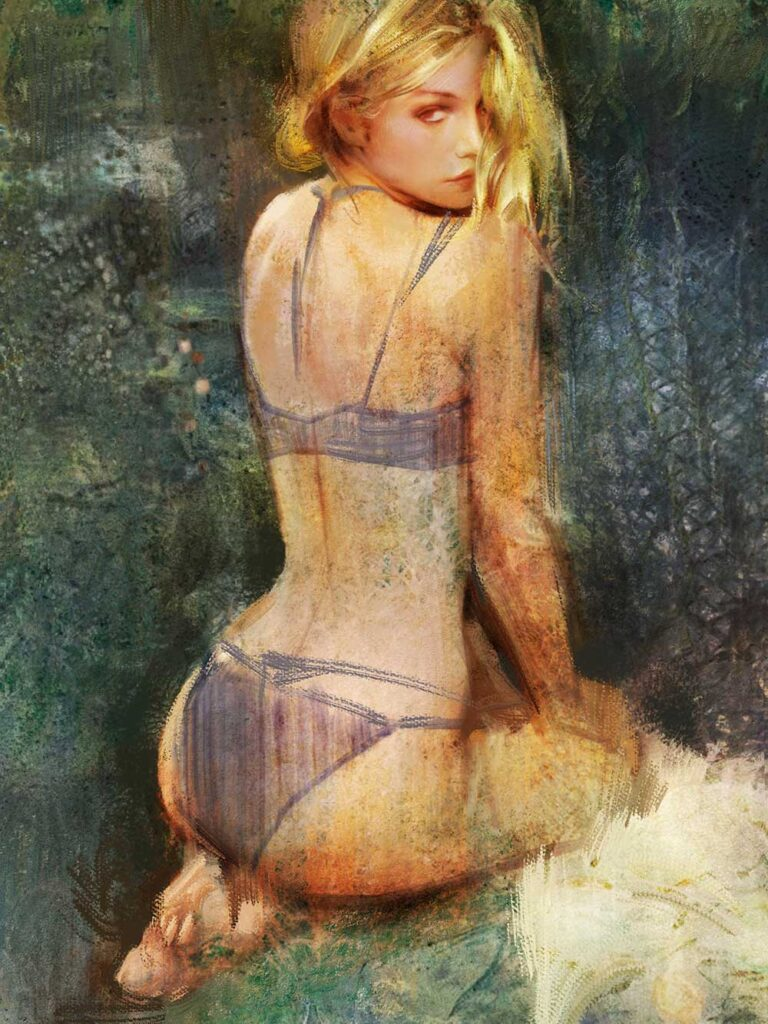 Inspirational Art : Study by Wanglie Li