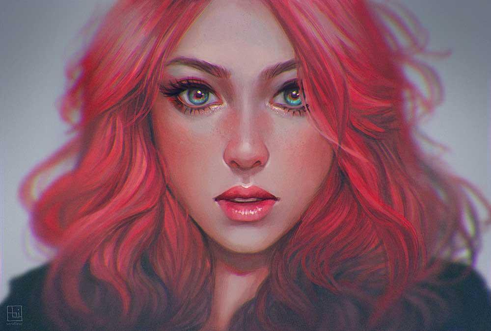 Inspirational Art : Pony by Abigail Diaz [Serafleur]