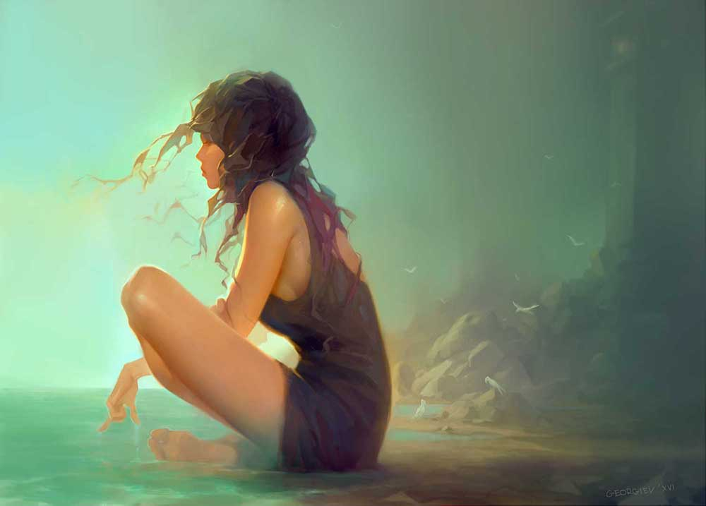 Inspirational Art : I'm Fine by Georgi Georgiev