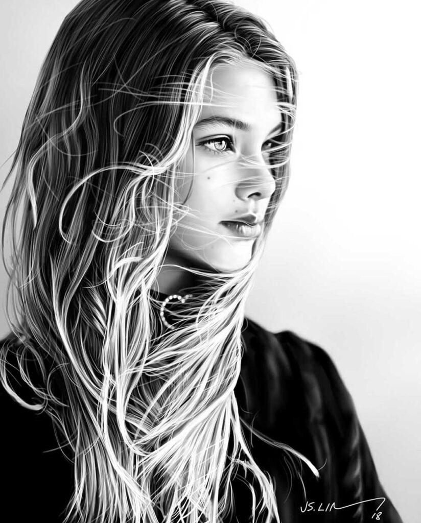 Inspirational Art : Laneya Grace by Jinsung Lim