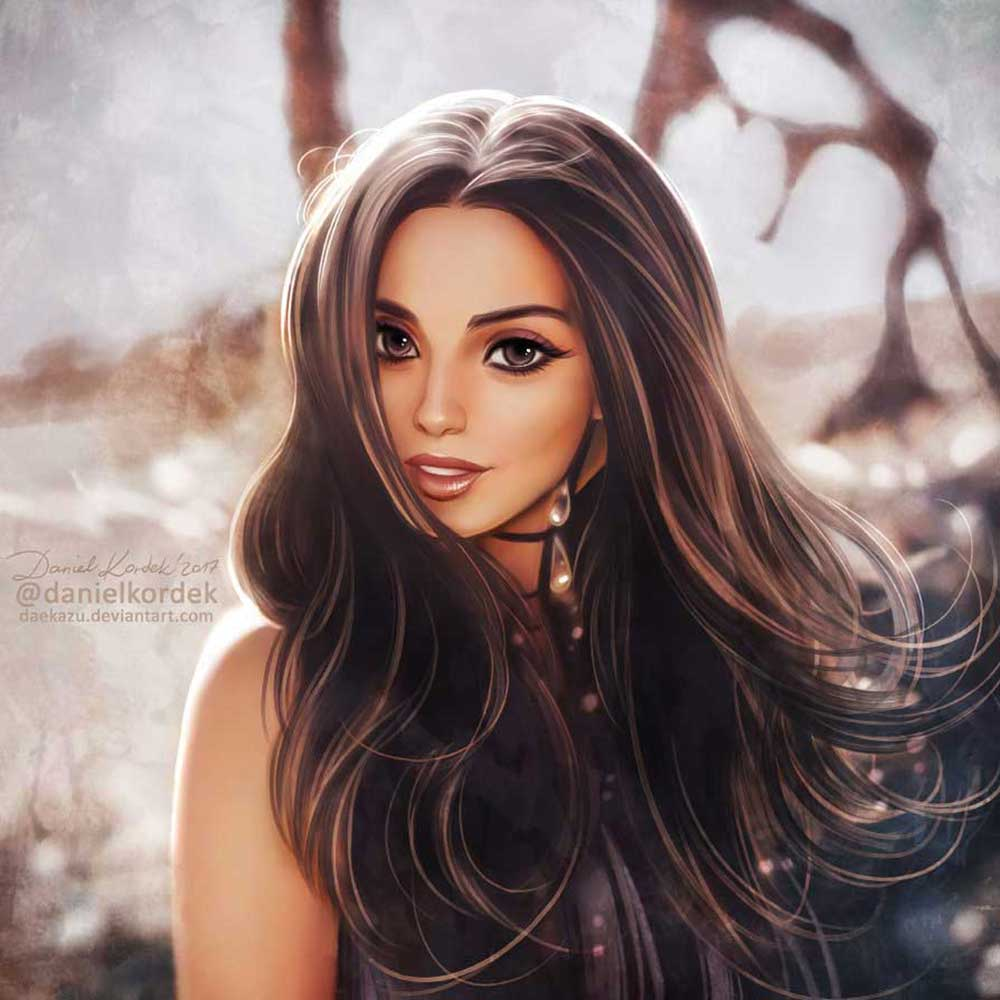Inspirational Art : Cher Lloyd by Daniel Kordek Daekazu