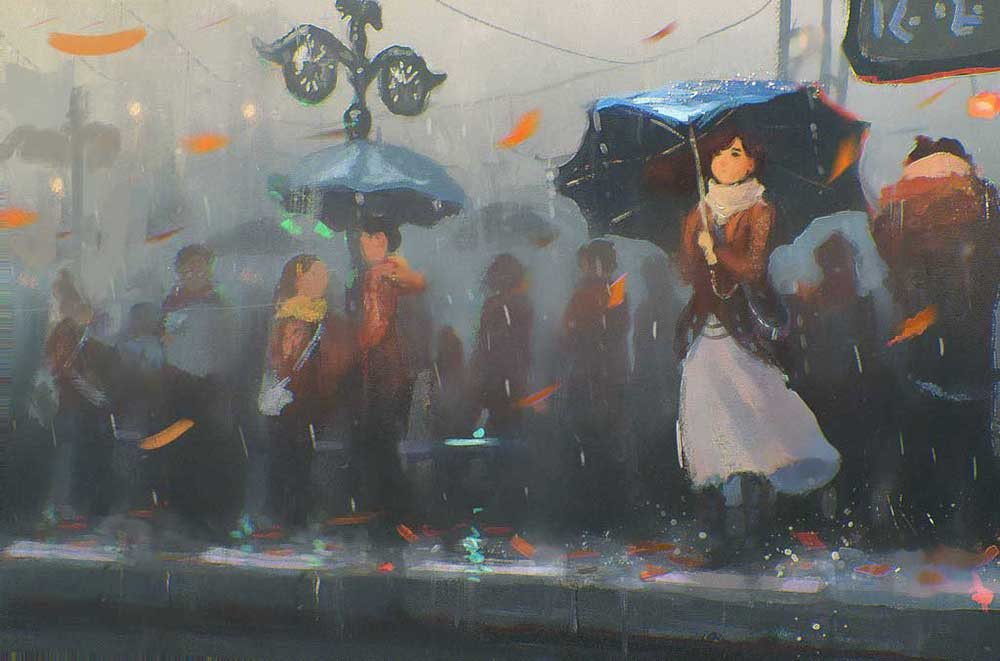 Inspirational Art : Speedpaint 100 by Sylar113