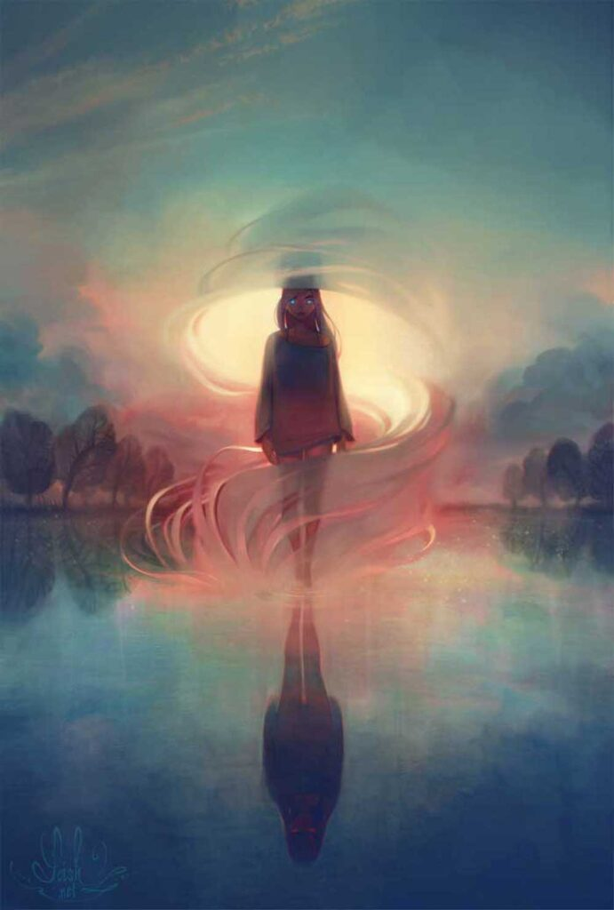 Inspirational Art : Breathe by Lois van Baarle [Loish]