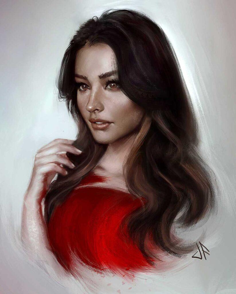 Inspirational Art : Liza Soberano by Justine Florentino