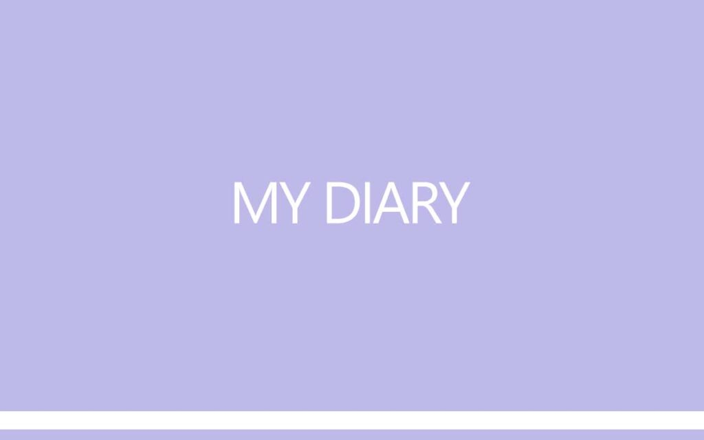 My Diary by Transgender Artist and Model Sophie Lawson