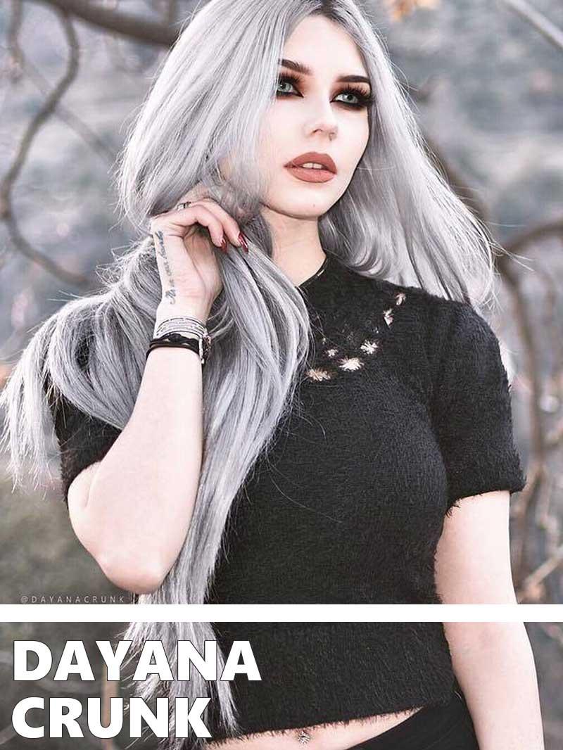 Inspirational Alt Model Dayana Crunk