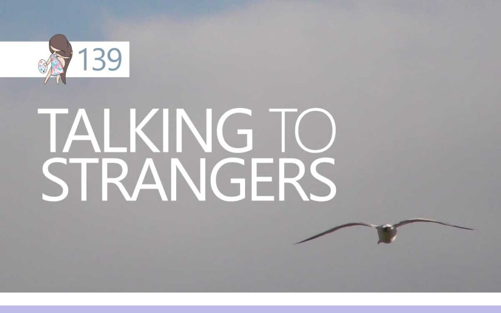 Talking to Strangers : An About the Tings Episode 139 of the So Free Art Podcast, with Transgender Artist Sophie Lawson