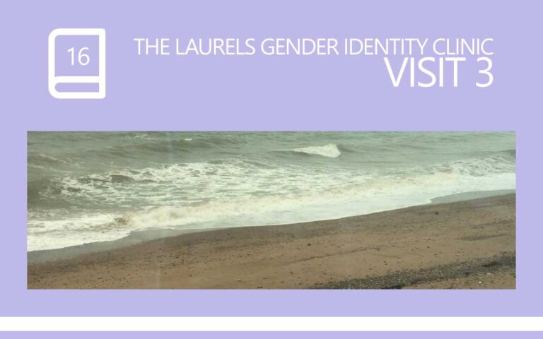 16 • THE LAURELS GENDER IDENTITY CLINIC VISIT 03