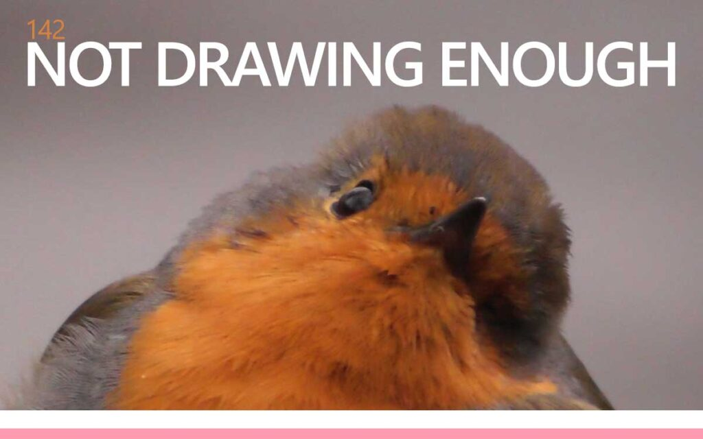 NOT DRAWING ENOUGH : Episode 142 of the So Free Art Podcast, with Transgender Artist Sophie Lawson