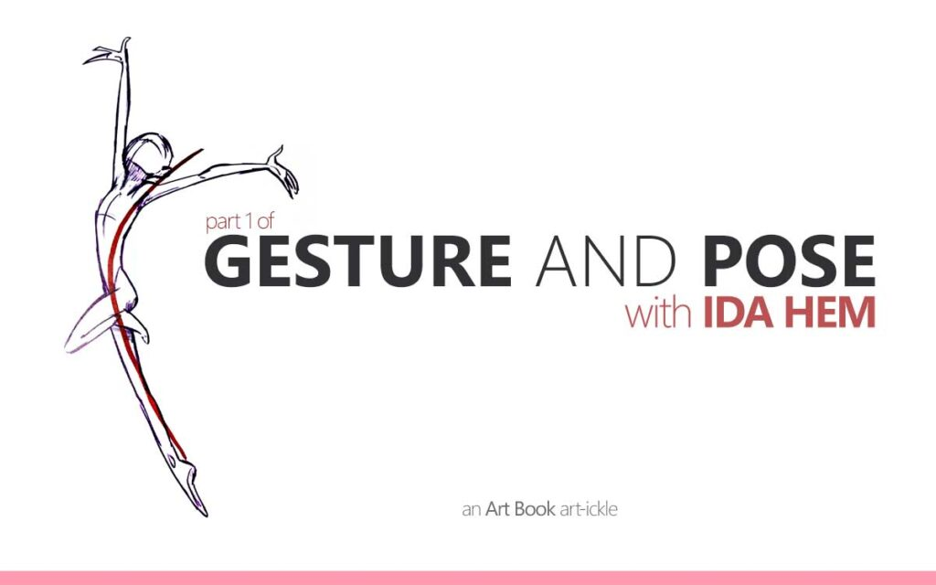 GESTURE AND POSE WITH IDA HEM PART 1 - an art book Art-ickle : Episode 154 of the So Free Art Podcast, with Transgender Artist Sophie Lawson