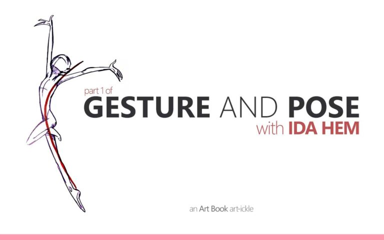 154 • GESTURE AND POSE WITH IDA HEM PART 1 : AN ART BOOK ART-ICKLE