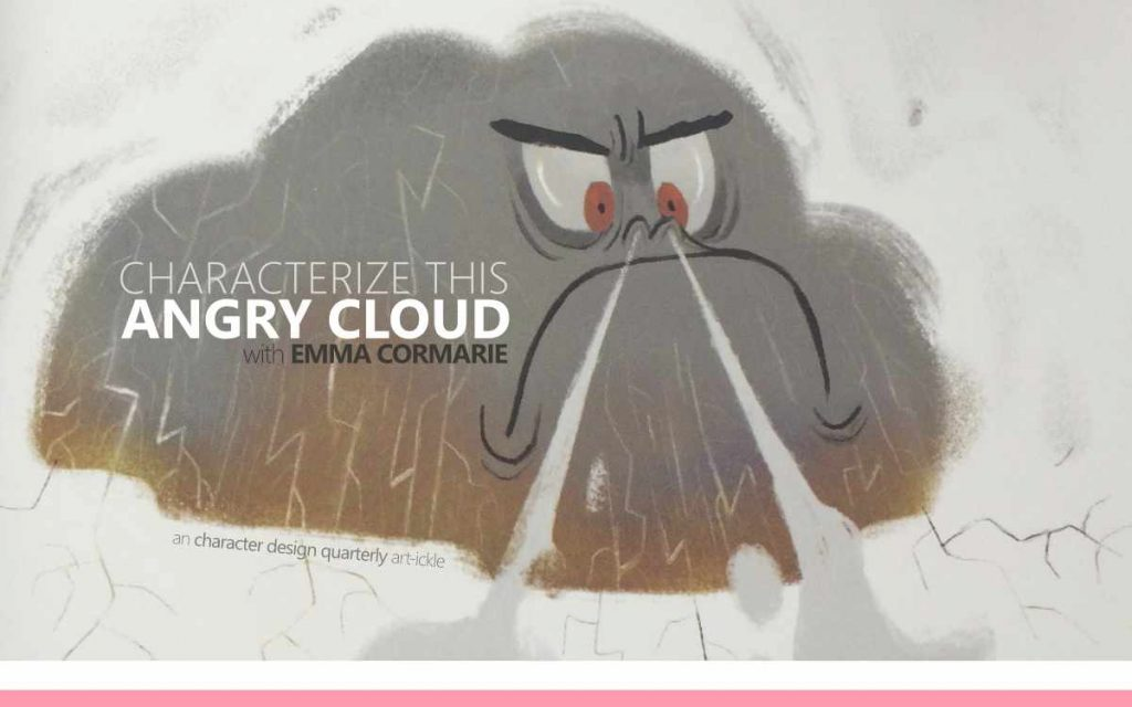 CHARACTERIZE THIS: ANGRY CLOUD WITH EMMA CORMARIE - a Character Design Quarterly Art-ickle : Episode 174 of the So Free Art Podcast, with Transgender Artist Sophie Lawson