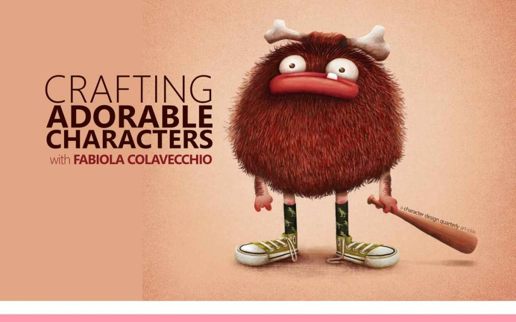 CRAFTING ADORABLE CHARACTERS WITH FABIOLA COLAVECCHIO - a Character Design Quarterly Art-ickle : Episode 179 of the So Free Art Podcast, with Transgender Artist Sophie Lawson