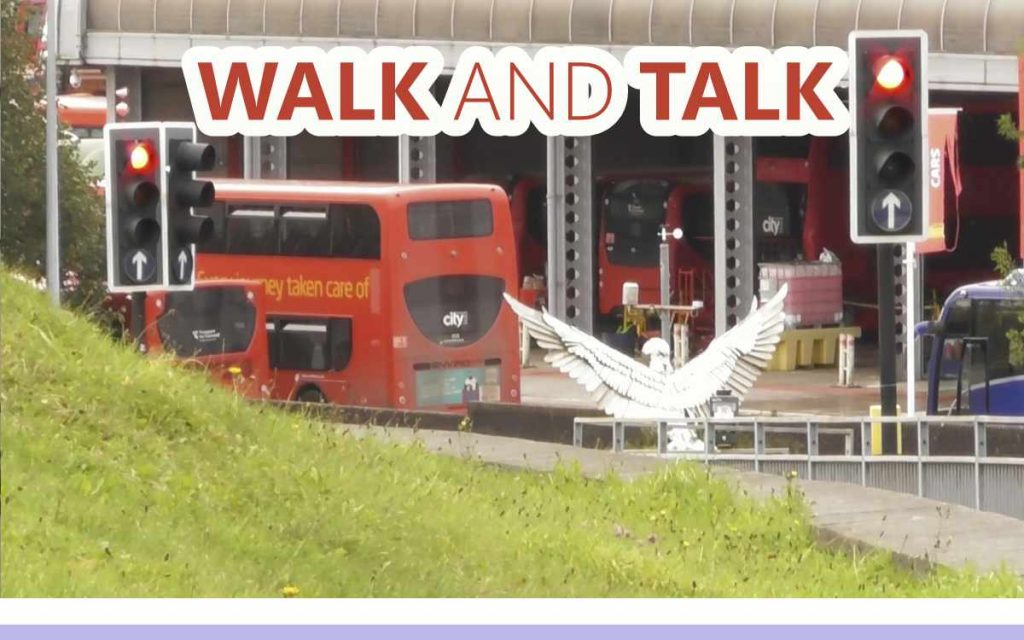 Walk and Talk - An About the Tings Episode 184 of the So Free Art Podcast, with Transgender Artist Sophie Lawson