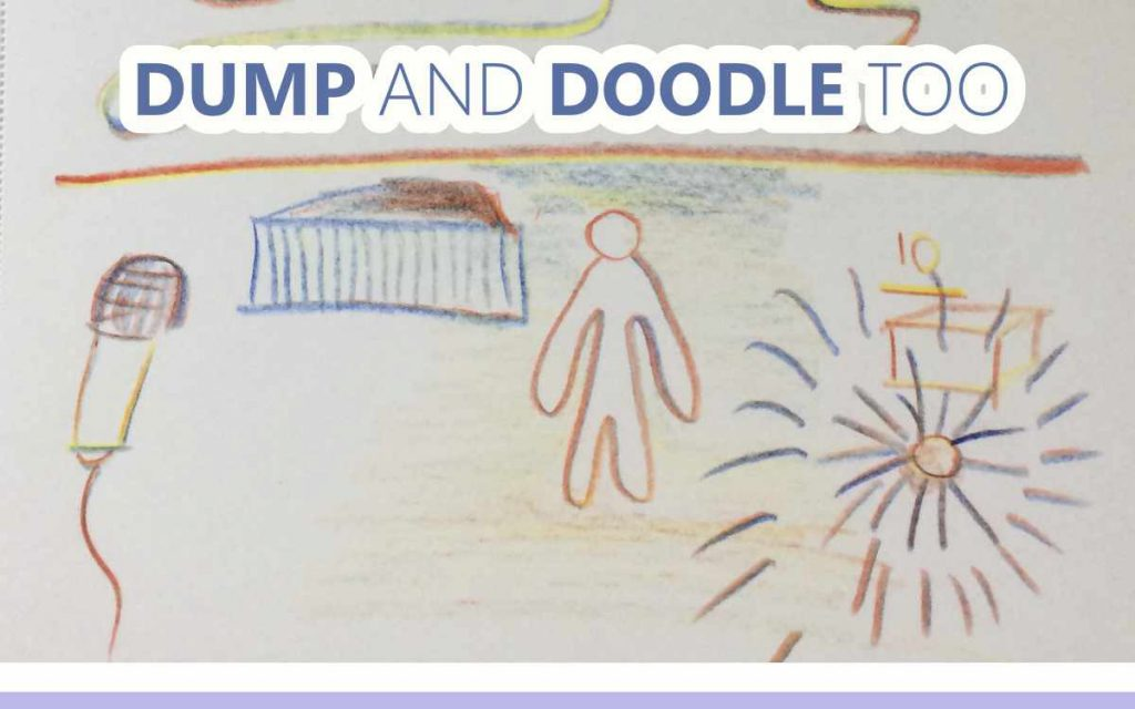 Dump and Doodle Too - An About the Tings Episode 185 of the So Free Art Podcast, with Transgender Artist Sophie Lawson